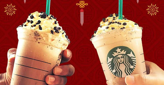Featured image for Starbucks: RM30 for two selected Grande Frappuccino from 16 - 18 Feb 2018