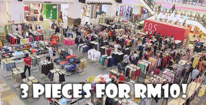 Featured image for F.O.S clearance sale at Berjaya Times Square from 1 – 18 Mar 2018