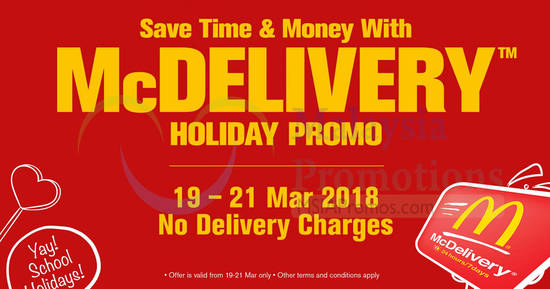McDelivery feat 17 Mar 2018