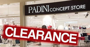 Padini: Clearance sale at IOI Mall (Puchong) Concept Store outlet! From 16 – 25 Mar 2018