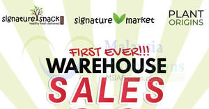 Featured image for Signature Market up to 80% OFF warehouse sale at Cheras from 27 – 28 Jul 2018