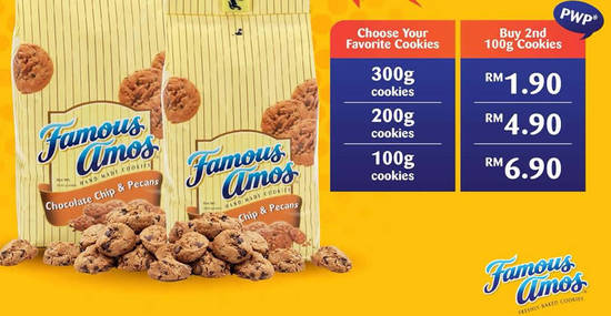 Famous Amos feat 19 Apr 2018