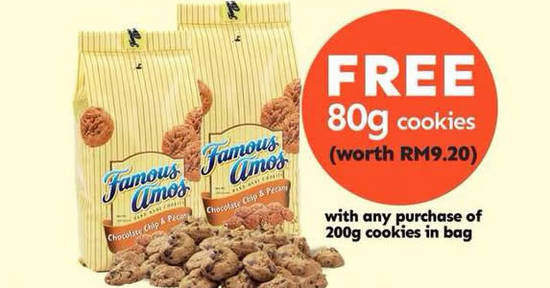 Famous Amos feat 7 May 2018