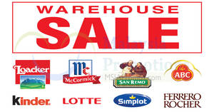 Featured image for GBA warehouse sale at Puchong from 2 – 3 Jun 2018