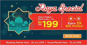 Featured image for Air Asia Go: Grab a vacation from RM199/pax (Return flights + Hotel + Tax)! Book by 24 Jun 2018