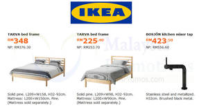 Featured image for IKEA: Save up to RM189 on selected items! Offers valid from 2 Jul – 5 Aug 2018