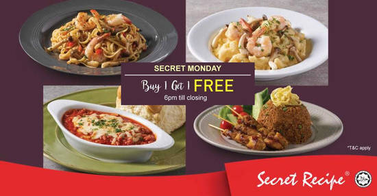 Secret Recipe feat 3 Jul 2018