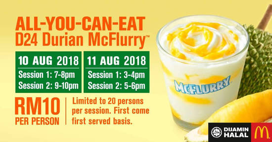 Enjoy an AllYouCanEat 3 Aug 2018