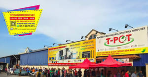 Featured image for T-Pot warehouse sale at Shah Alam on 4 Aug 2018