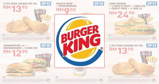 Featured image for Burger King releases new coupons valid till 3 Oct 2018