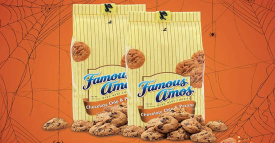 Featured image for Famous Amos: 2 x 80g cookies in bag for RM10 till 31 Oct 2018