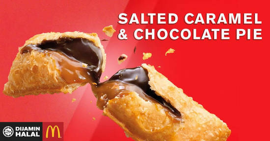 Featured image for McDonald's launches new Salted Caramel & Chocolate Pie, coffee desserts & more from 1 Oct 2018