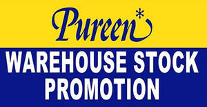 Featured image for Pureen Warehouse Stock Promotion at Masai, Johor from 20 – 21 Oct 2018