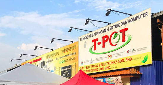 Featured image for T-Pot warehouse sale at Shah Alam on 13 July 2019