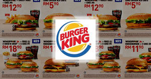 Burger King releases new coupons valid till 31 Dec 2018