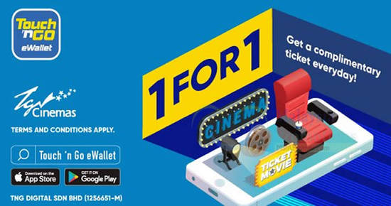 Featured image for Here's how to enjoy buy-1-FREE-1 tickets at TGV Cinemas with Touch 'n Go till 31 Dec 2018