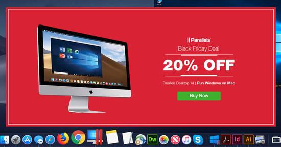 Featured image for Parallels Black Friday Promo: Save 20% off Parallels Desktop software till 27 November 2018