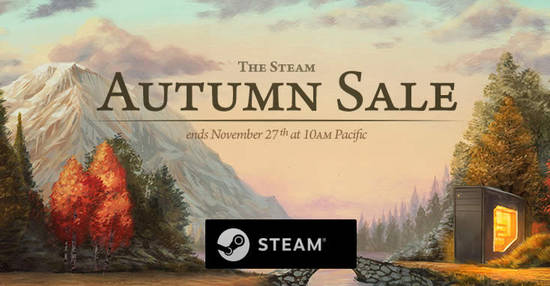 Featured image for Steam 2018 Autumn Sale now on till 27 November 2018