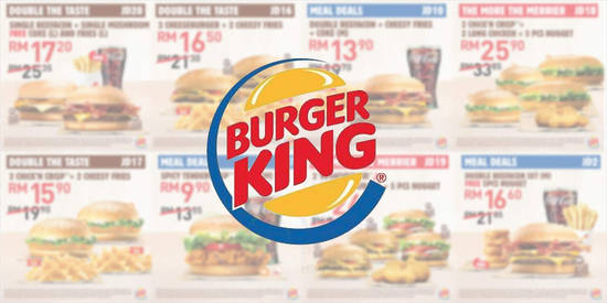 Featured image for Burger King releases new coupons valid till 20 Feb 2019