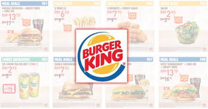 Burger King releases new discount coupon deals valid till 19 Apr 2019