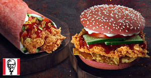 KFC launches new Ghost Pepper Zinger burger and Ghost Pepper Twister from 21 Feb 2019