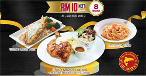 Manhattan FISH MARKET: Grab selected items at only RM10 NETT at almost ALL outlets from 15 – 22 Feb 2019