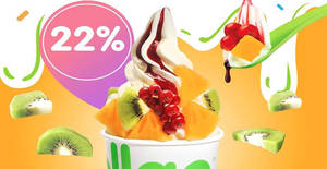 Featured image for llaollao: 22% OFF medium, large and Sanum tubs for one-day only on 29 May 2019