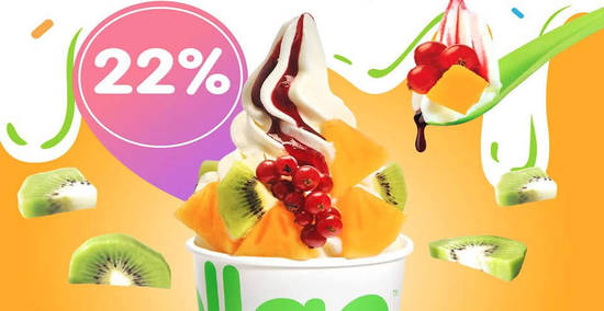 Featured image for llaollao: 22% OFF medium, large and Sanum tubs for one-day only on 13 Feb 2019