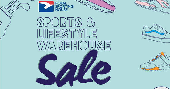 Featured image for Royal Sporting House Sports & Lifestyle Warehouse Sale from 23 - 27 May 2019