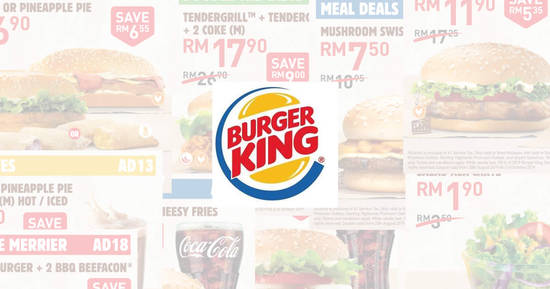 Featured image for Save BIG with the latest Burger King e-coupons valid till 21 October 2019