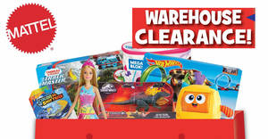 The 2019 Mattel Warehouse Clearance is returning from 26th – 28th September 2019