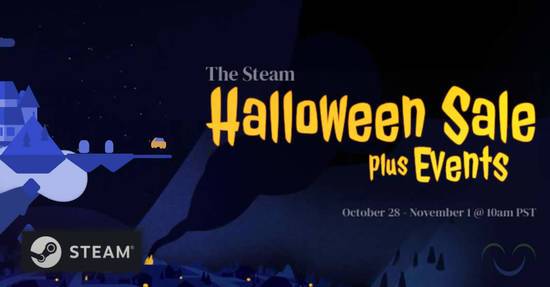 Featured image for Steam 2019 Halloween Sale now on till 1 November 2019