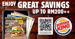 Burger King: Save BIG with the latest BK e-coupons valid till 15 December 2019