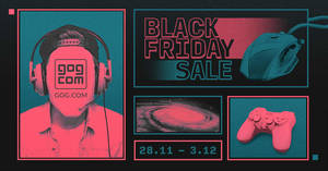 Featured image for GOG.com: Black Friday Sale – 2000+ deals up to 90% off till 3 December 2019