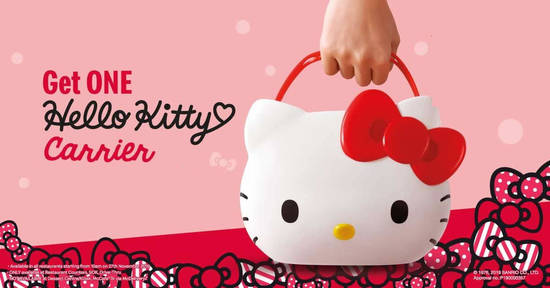Featured image for The much-awaited Hello Kitty Carrier is coming to McDonald's Malaysia!