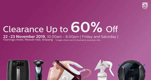 Philips Warehouse Clearance Sale (22nd & 23rd November)
