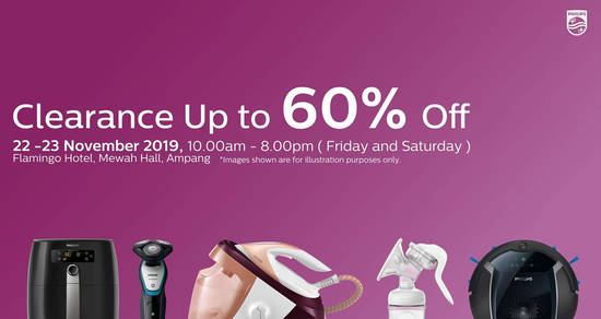 Featured image for Philips Warehouse Clearance Sale (22nd & 23rd November)