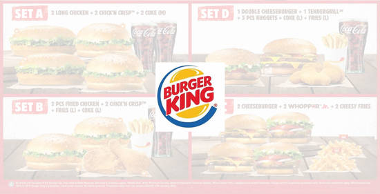 Featured image for Burger King RM20 New Year Family Feast bundles valid from 1 - 14 January 2020