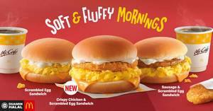 Featured image for McDonald's Now Has Crispy Chicken & Scrambled Egg Sandwich (From 23 Jan '20)