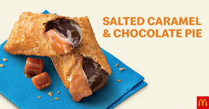 Featured image for McDonald's now has Salted Caramel & Chocolate Pie, Salted Caramel Dessert, Cheesecake Desserts & More (From 23 Jan 2020)