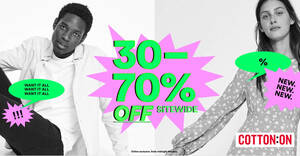 Featured image for Cotton On: 30% to 70% OFF almost everything at online store till 25 May 2020
