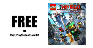 Featured image for Free LEGO® NINJAGO Movie Video Game on Xbox, PlayStation® and PC till 21 May 2020