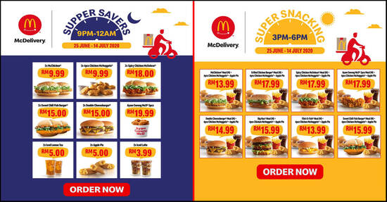Featured image for McDelivery is offering Super Snacking & Supper Savers delivery deals till 14 July 2020