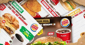 Burger King releases 20 NEW Burger King coupons you can flash to redeem till 18 October 2020