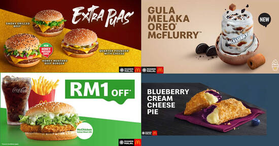 Featured image for McDonald's releases NEW Honey Mustard Beef Burger, Gula Melaka Oreo McFlurry & more (From 5 Oct 2020)