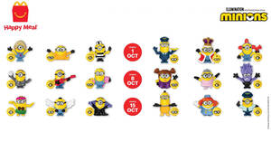 McDonald's now offers Minion toys for FREE with every Happy Meal till 11 November 2020