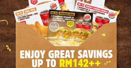 Featured image for Here are 20 new Burger King coupons you can just flash to redeem extra savings till 20 Dec 2020