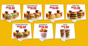 McDelivery Crazy Hour deals are back everyday 3pm – 9pm till 31 Dec 2020