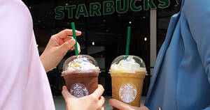Starbucks: Get the second beverage at only RM8 with purchase of a Frappuccino on 8 March 2021