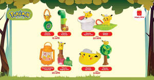 Featured image for McDonald's M'sia latest Happy Meals now comes with a Pokemon toy FREE! Till 12 May 2021